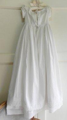 他の写真2: 【2枚組】イギリス、ヴィクトリアン・ベビー洗礼式用ドレス&スリップ