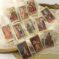 イギリス、各時代毎の衣装シリーズ、シガレットカード11枚セット(B)