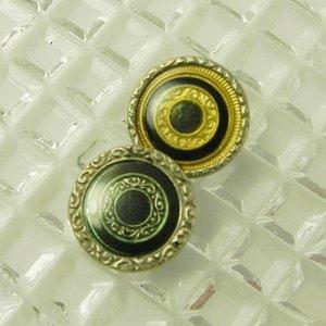画像4: 細かなモチーフにセルロイドカバーのボタン2個