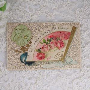 画像2: シルクリボン飾り付カード