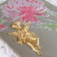 天使メタル飾り付カード