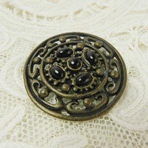 画像5: 透かし模様のメタルボタン