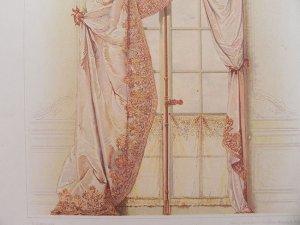 画像3: 1800年代、ドイツ製プリント画 インテリア・テキスタイル・デザイン
