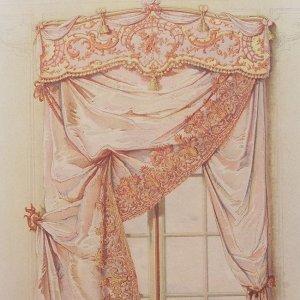 画像2: 1800年代、ドイツ製プリント画 インテリア・テキスタイル・デザイン