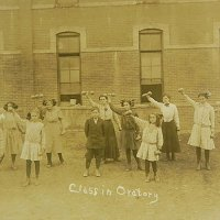 1912年、アメリカン・カントリーのスクールフォト