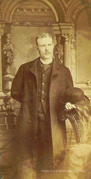 画像1: 1800年代、ヴィクトリアン、ジェントルマン・フォト