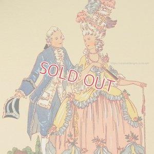画像1: 【フランス・ルイ16世時代のファッション】ポストカード