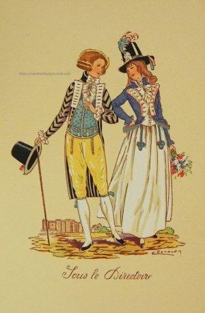 画像4: 【フランス・革命時前後のファッション】ポストカード