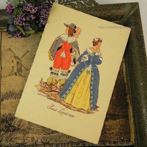 画像5: 【フランス・ルイ13世時代のファッション】ポストカード