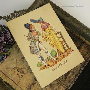 画像3: 【フランス・1700終わり〜1800年代初め頃のファッション】ポストカード