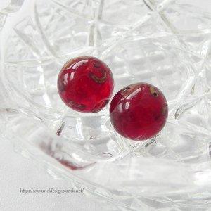 画像3: ヴェネツィアン・ガラスのビーズ2個