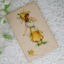 他の写真1: アンティークカード フェアリー