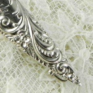 画像2: 銀製ヴィクトリアン・ブローチ