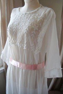 他の写真1: エドワディアン、ホワイトドレス