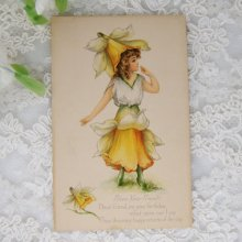 他の写真2: アンティークカード フェアリー