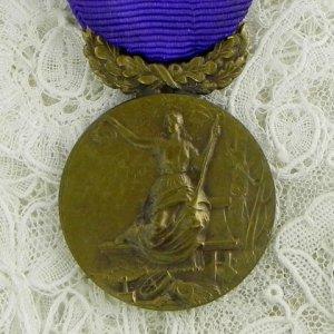 画像1: フレンチ・メダル (女神)