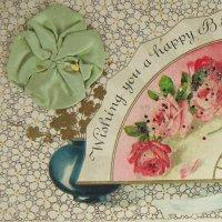 シルクリボン飾り付カード